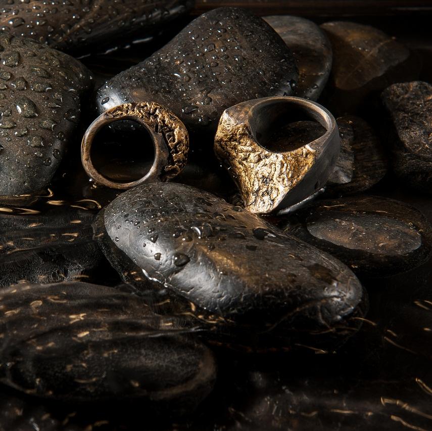 gold-wood-rings