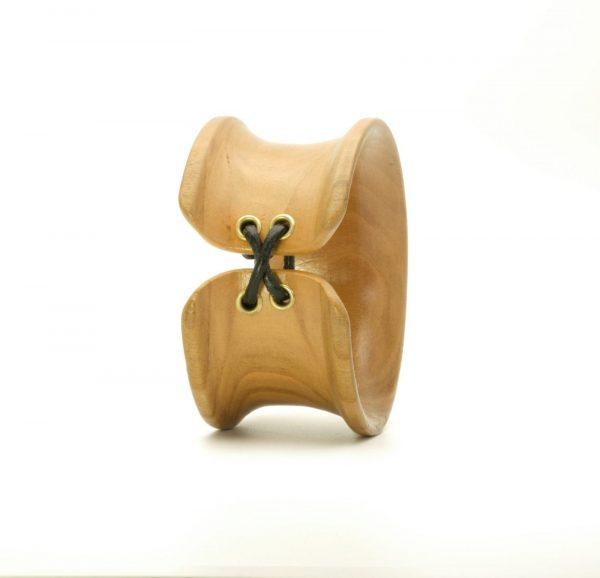 Handmade wooden bangle_1