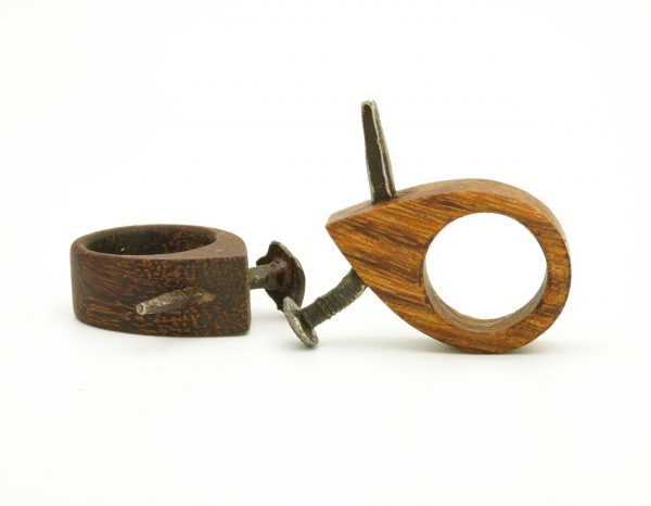 Ancient nail wood ring