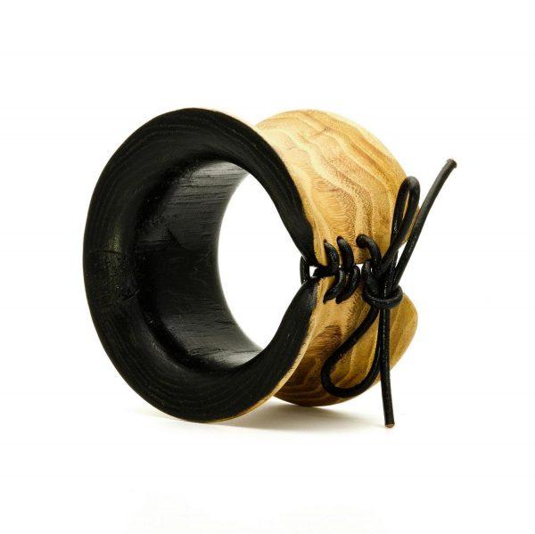 Contemporary jewelry wood bangle_10