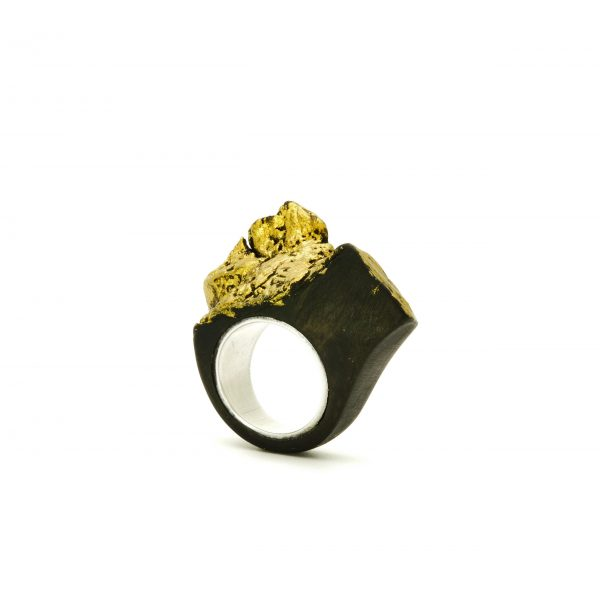 Contemporary jewewellery wooden ring_11