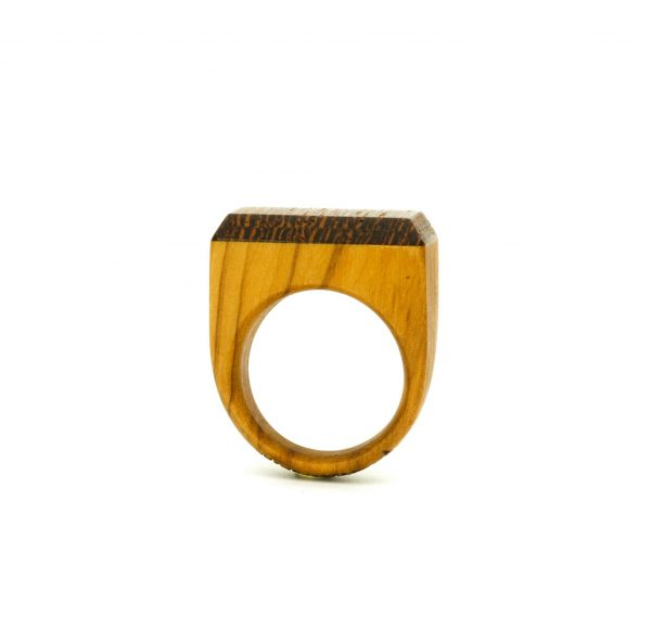 Contemporary jewewellery wooden ring_14
