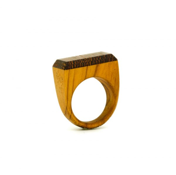 Contemporary jewewellery wooden ring_15