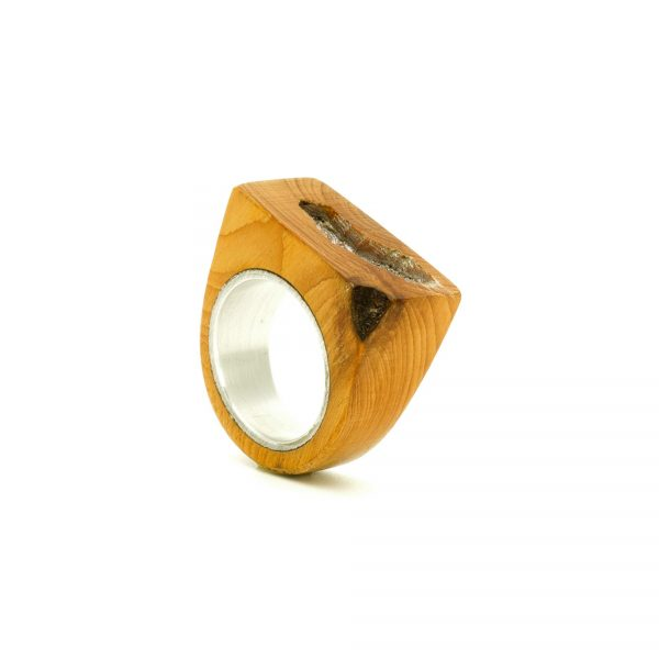 Contemporary jewewellery wooden ring_18