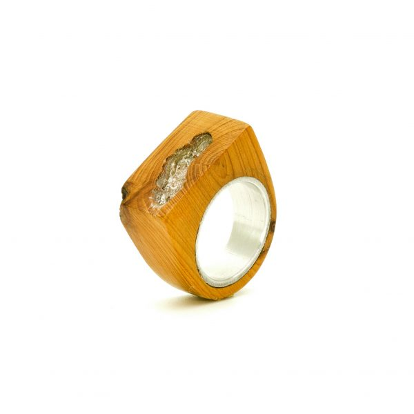 Contemporary jewewellery wooden ring_19