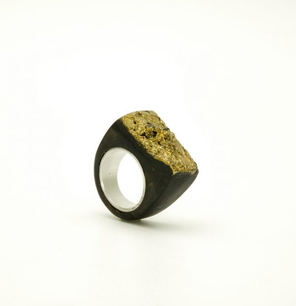 Contemporary jewewellery wooden ring_21