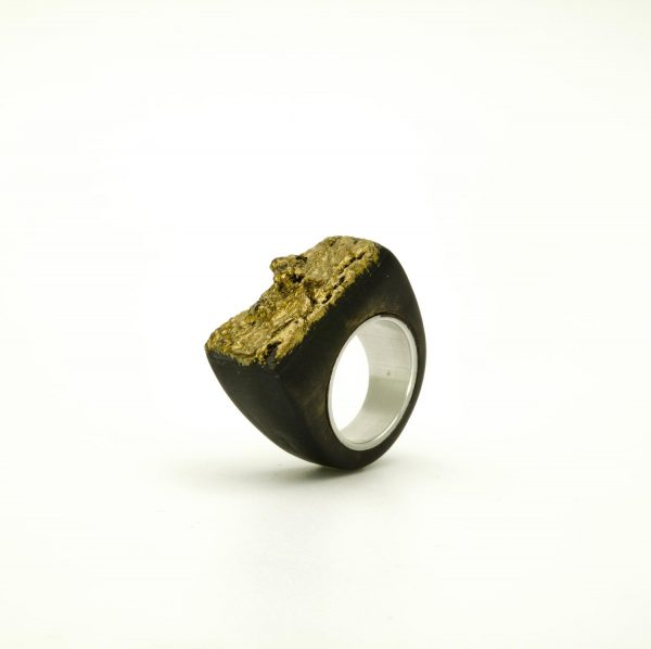 Contemporary jewewellery wooden ring_22