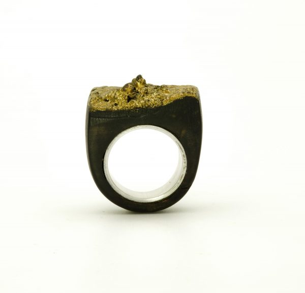 Contemporary jewewellery wooden ring_23