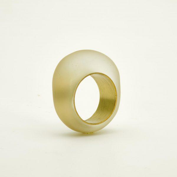 Transparent-resin-and-brass-handmade