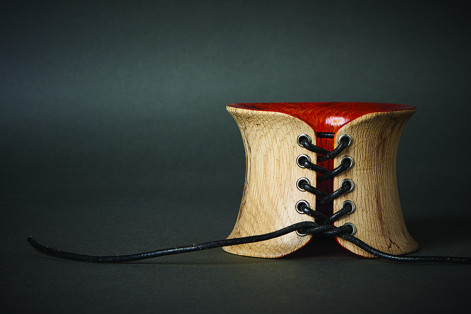 simone frabboni bracciale di legno Faun
