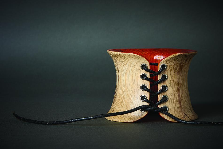 simone frabboni faun wood bangle
