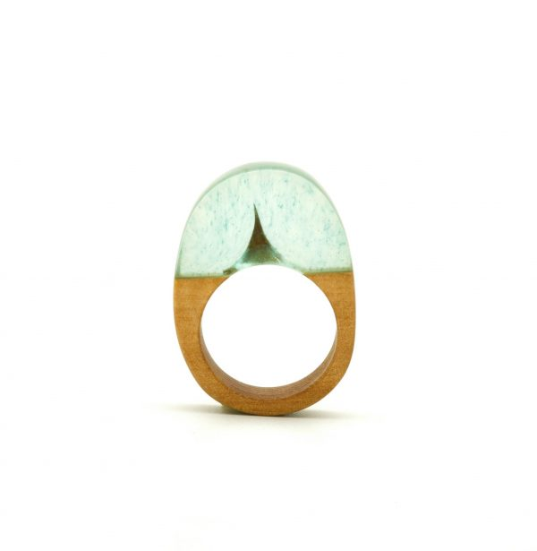 Wood and resin ring_1