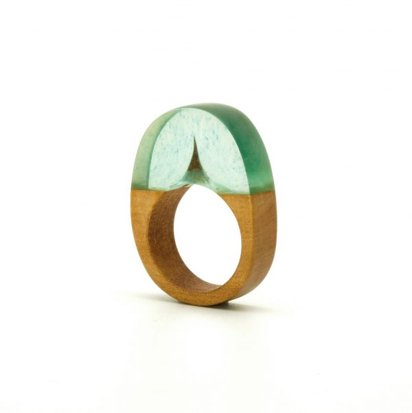 Wood and resin ring_2