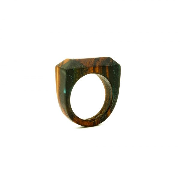 Wood and resin ring_5