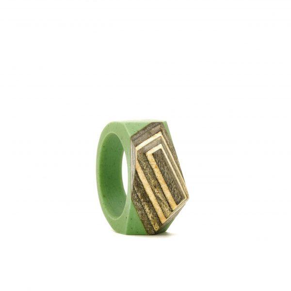 Skateboard resin ring green
