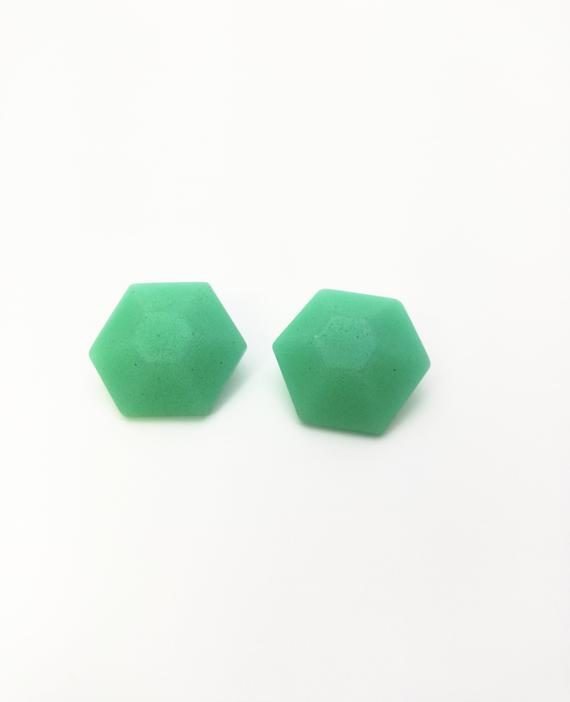 Eco resin Earrings