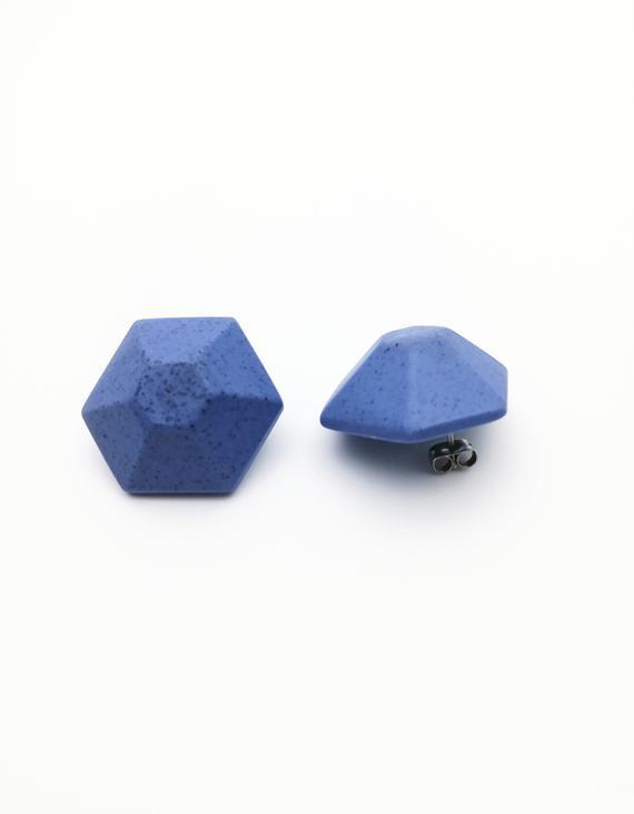 Eco resin Earrings