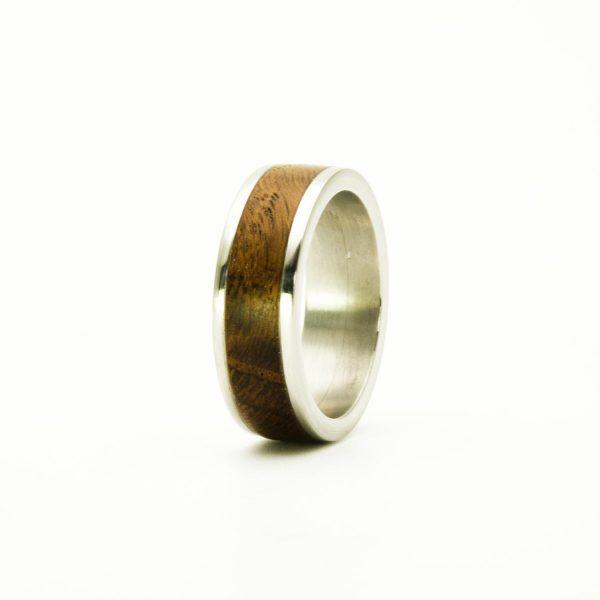 Bog oak Wedding wood rings_1