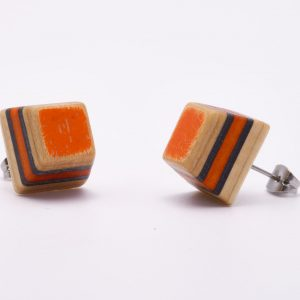 up-cycled skateboard jewels