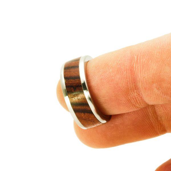 Kingwood Wedding wood rings