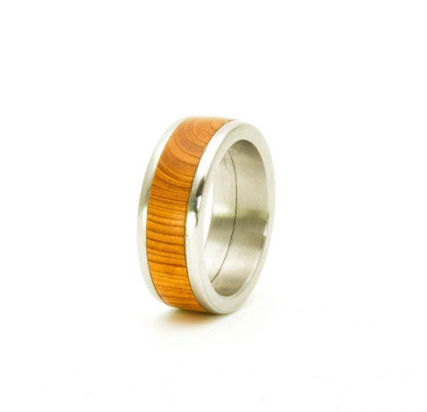 Yew Wedding wood rings_5