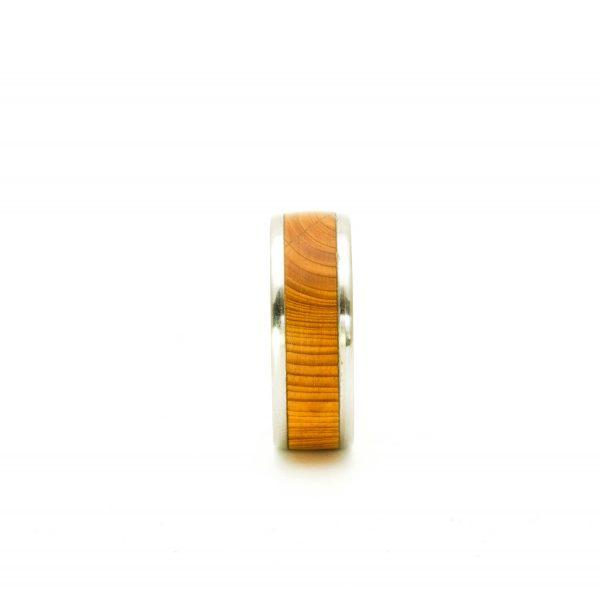 Yew Wedding wood rings_7