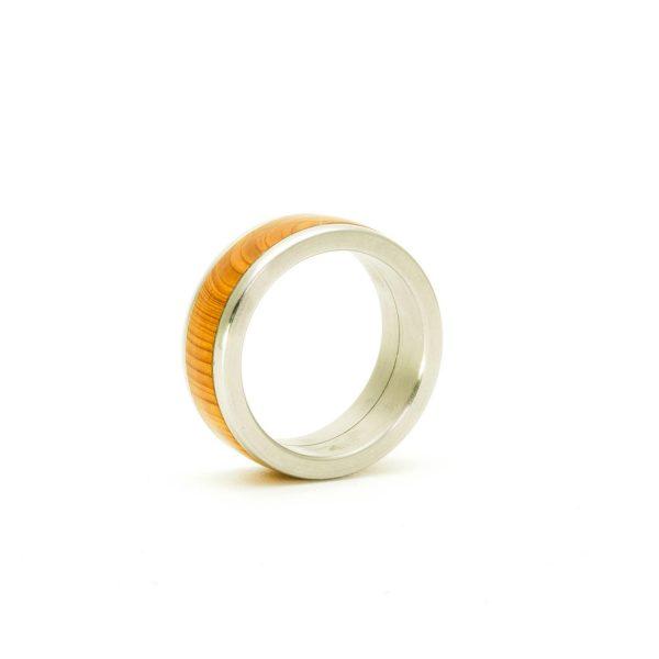 Yew Wedding wood rings_8