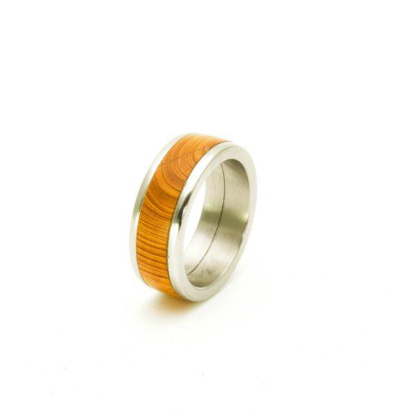 Yew Wedding wood rings_9