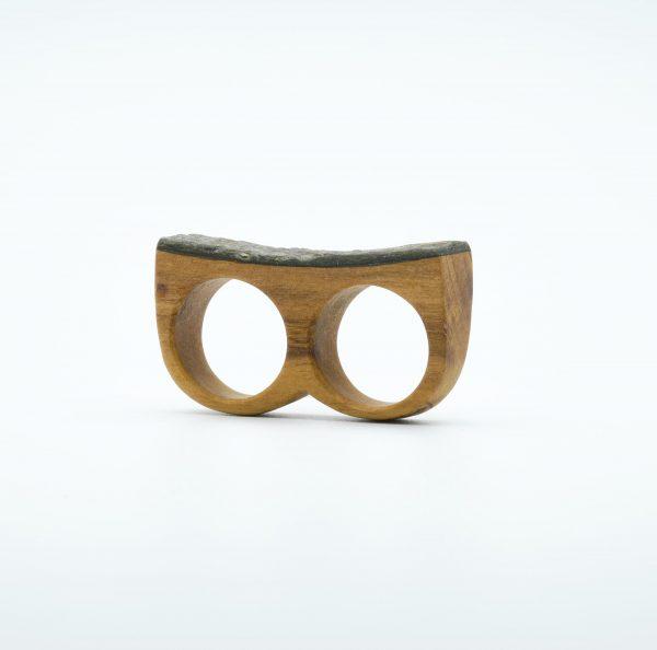 simone frabboni double wood ring1