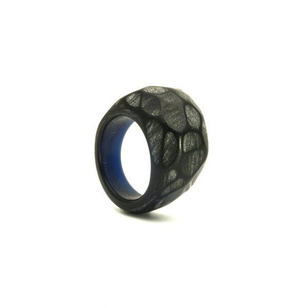 Black acrylic resin ring2