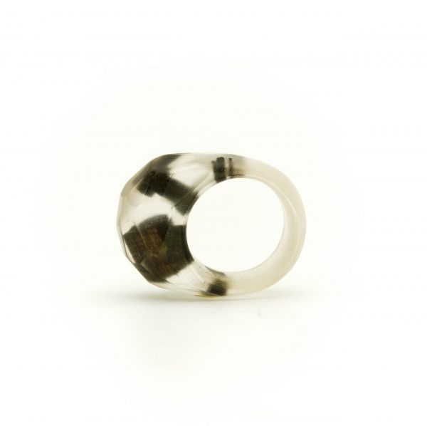 Bog oak transparent resin ring_02