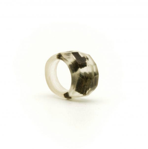 Bog oak transparent resin ring_03