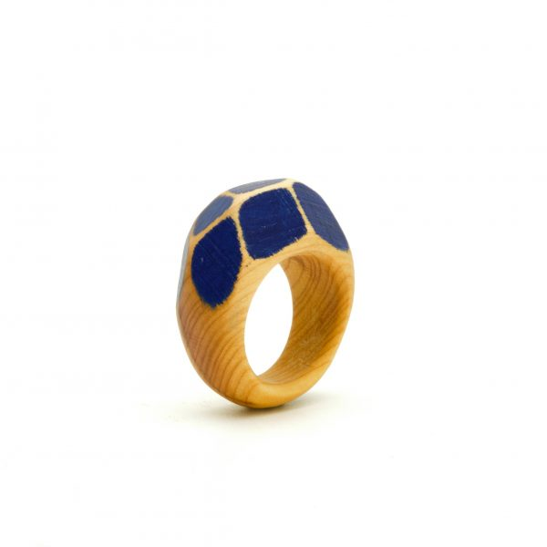 Yew wood ring Simone Frabboni