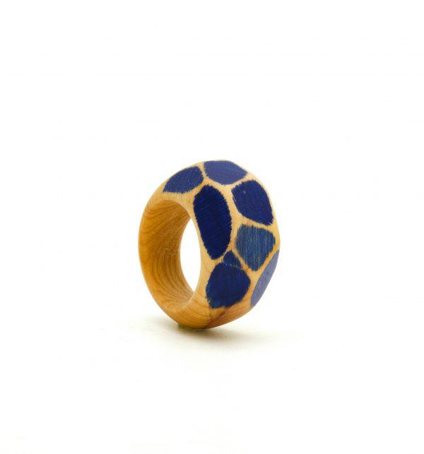 Yew wood ring Simone Frabboni